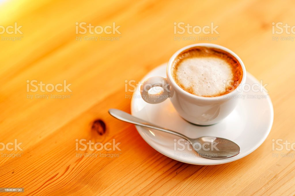White coffee  cup royalty-free stock photo