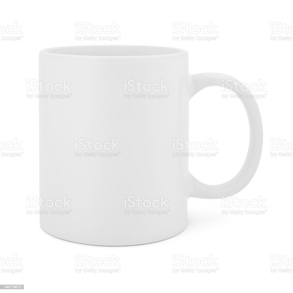 White Coffee Mug (with path) stock photo