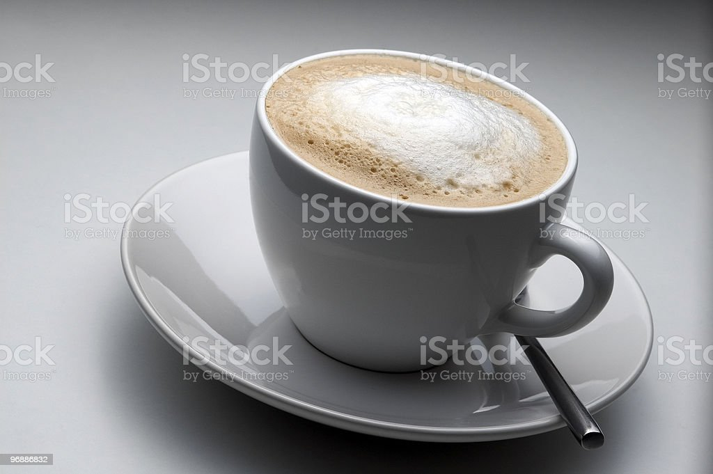 Milchkaffee royalty-free stock photo