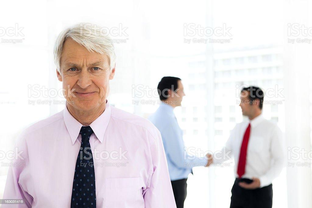 White collar Business Leadership royalty-free stock photo