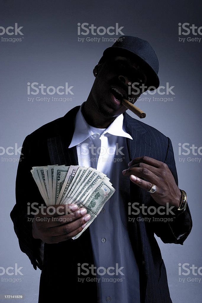 White Collar Criminal royalty-free stock photo