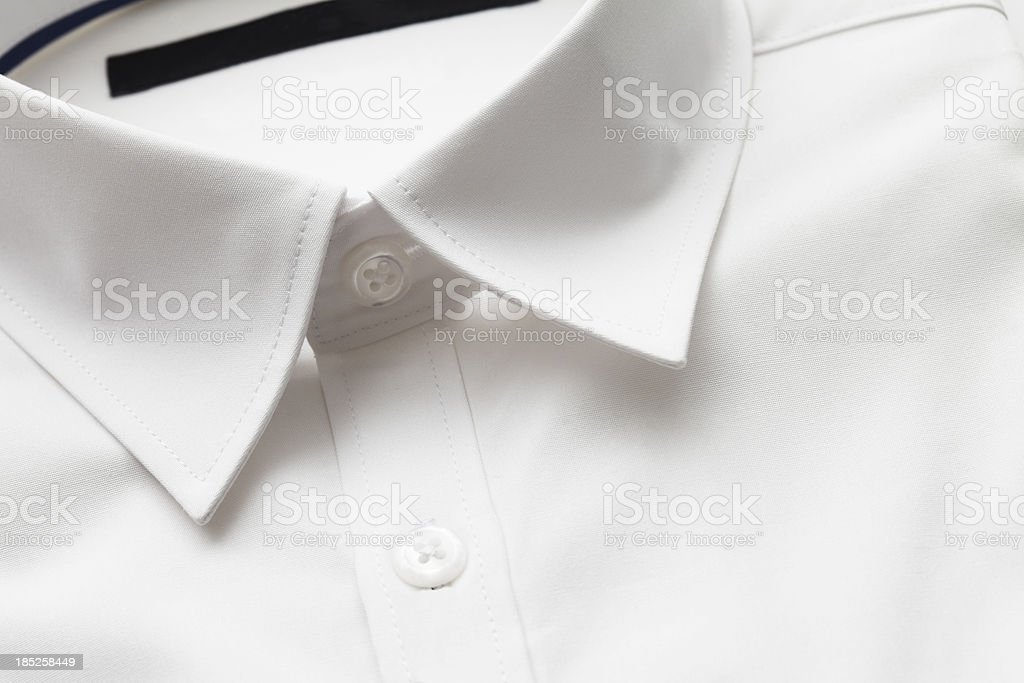 White collar stock photo