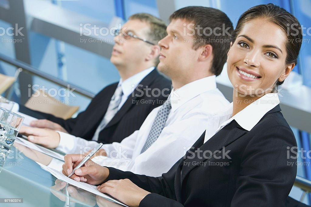 White collar worker royalty-free stock photo