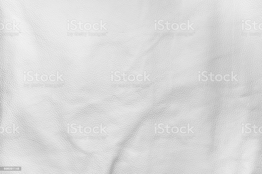 White color leather texture background stock photo