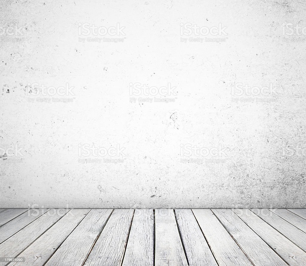 white concrete room royalty-free stock photo