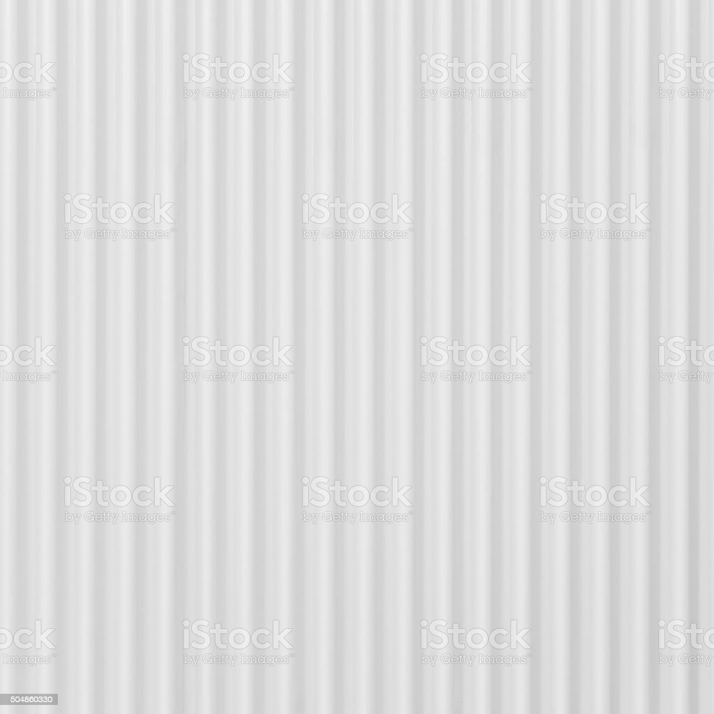 White corrugated metal background and texture surface stock photo