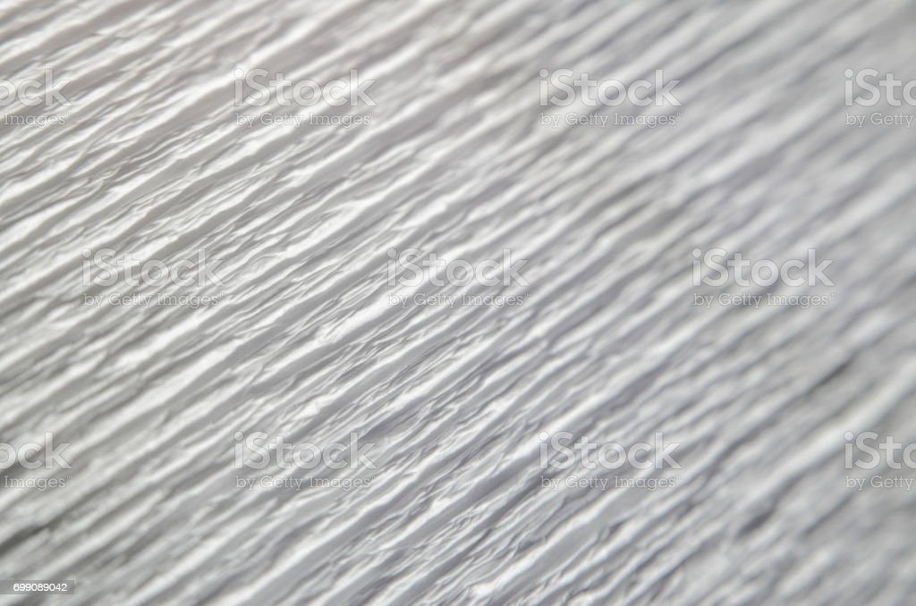 White corrugated paper background stock photo