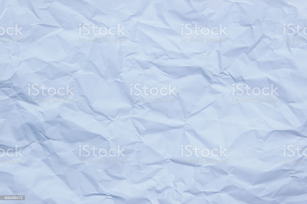 White creased paper background texture. stock photo