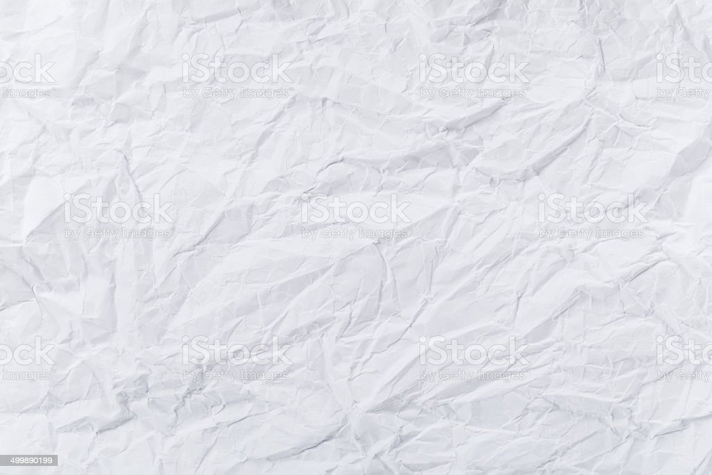 White creased paper royalty-free stock photo