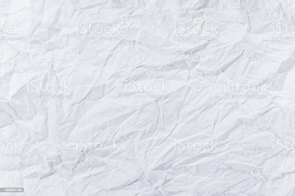 White creased paper stock photo