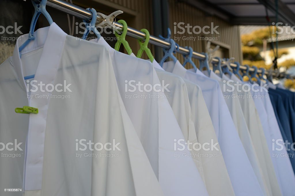 white croth stock photo