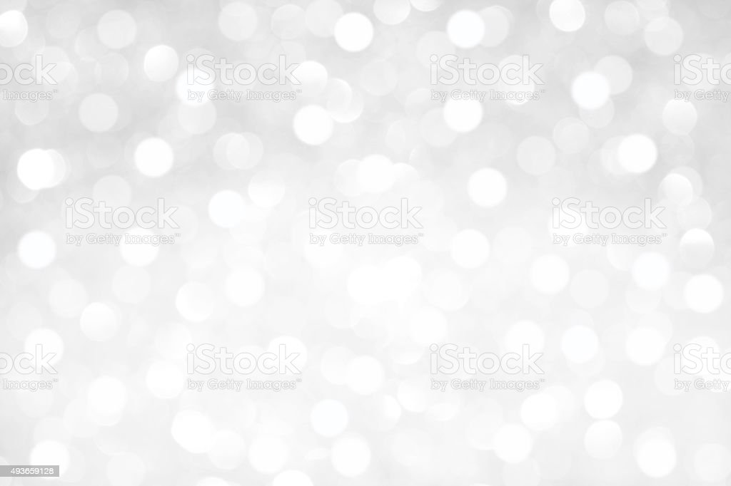 White Crystal Glitter Background stock photo