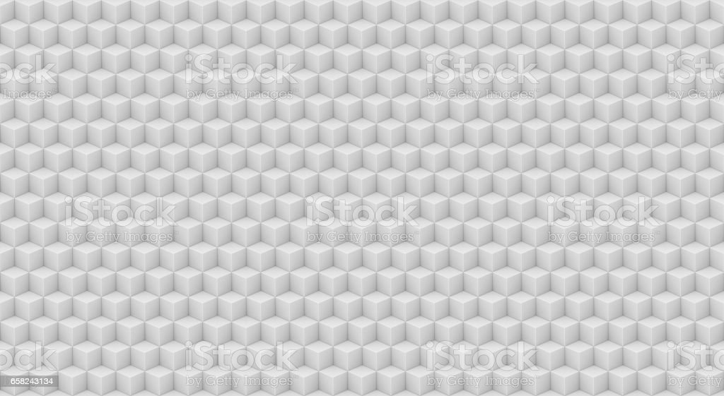 White cubes background stock photo