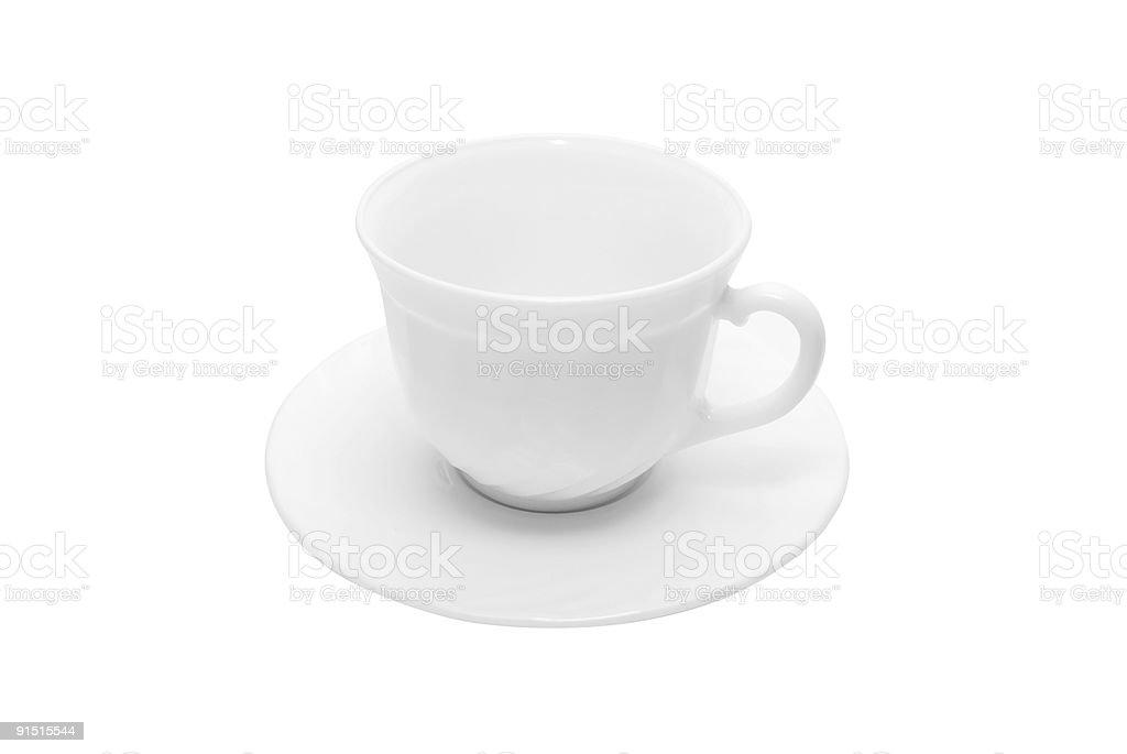 Blanc tasse photo libre de droits