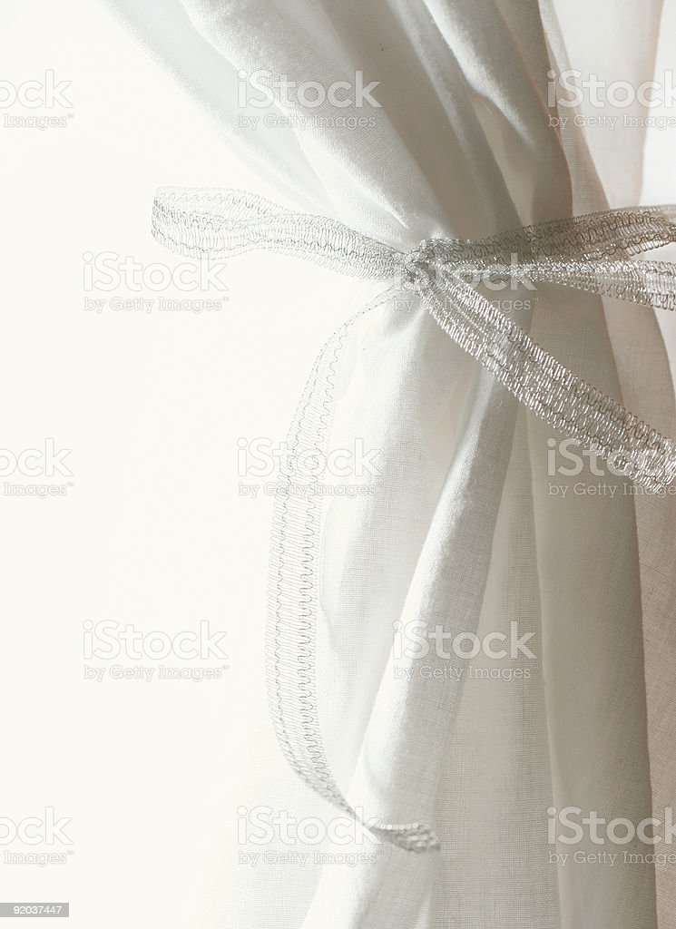 white curtains royalty-free stock photo