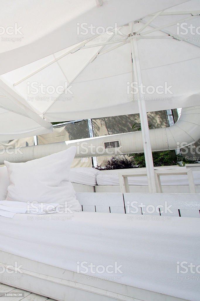 Coussin blanc photo libre de droits