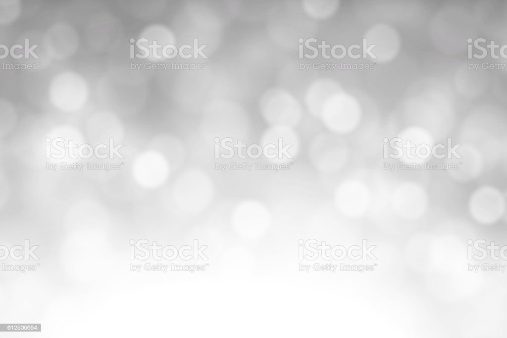 White Defocused Lights Background stock photo