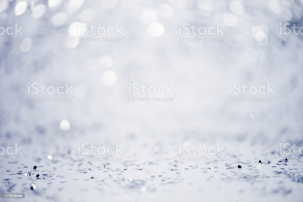 White defocused lights royalty-free stock photo