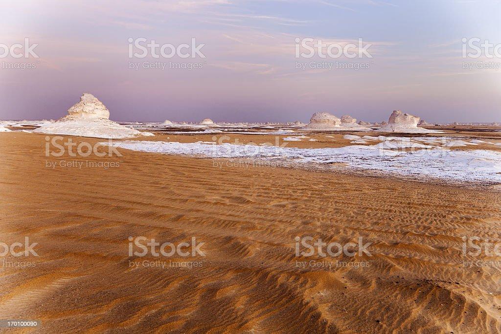 White desert royalty-free stock photo