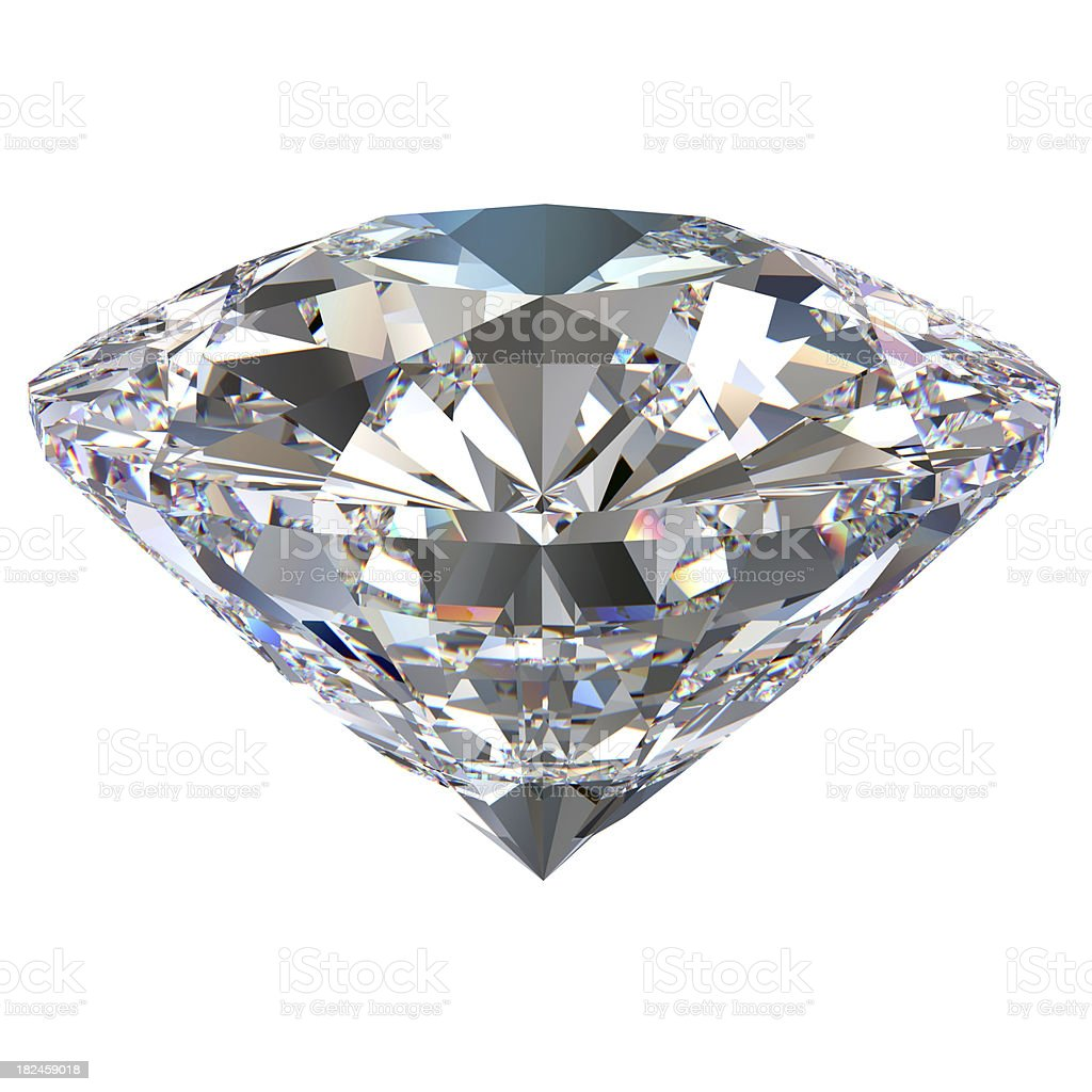 White Diamond Glory stock photo