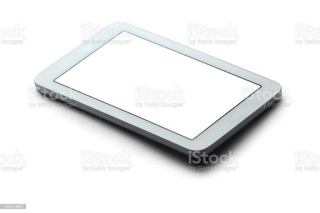White digital tablet royalty-free stock photo