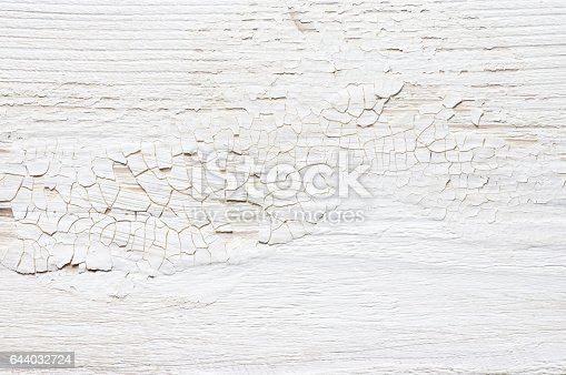 White Distressed Wood Texture Stock Photo 644032724