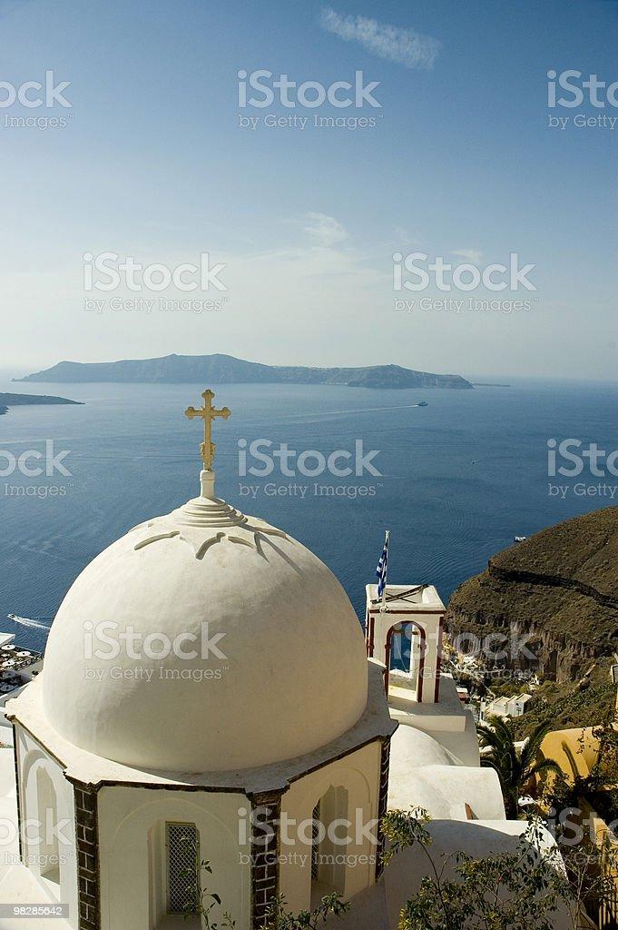 White dome church royalty-free stock photo