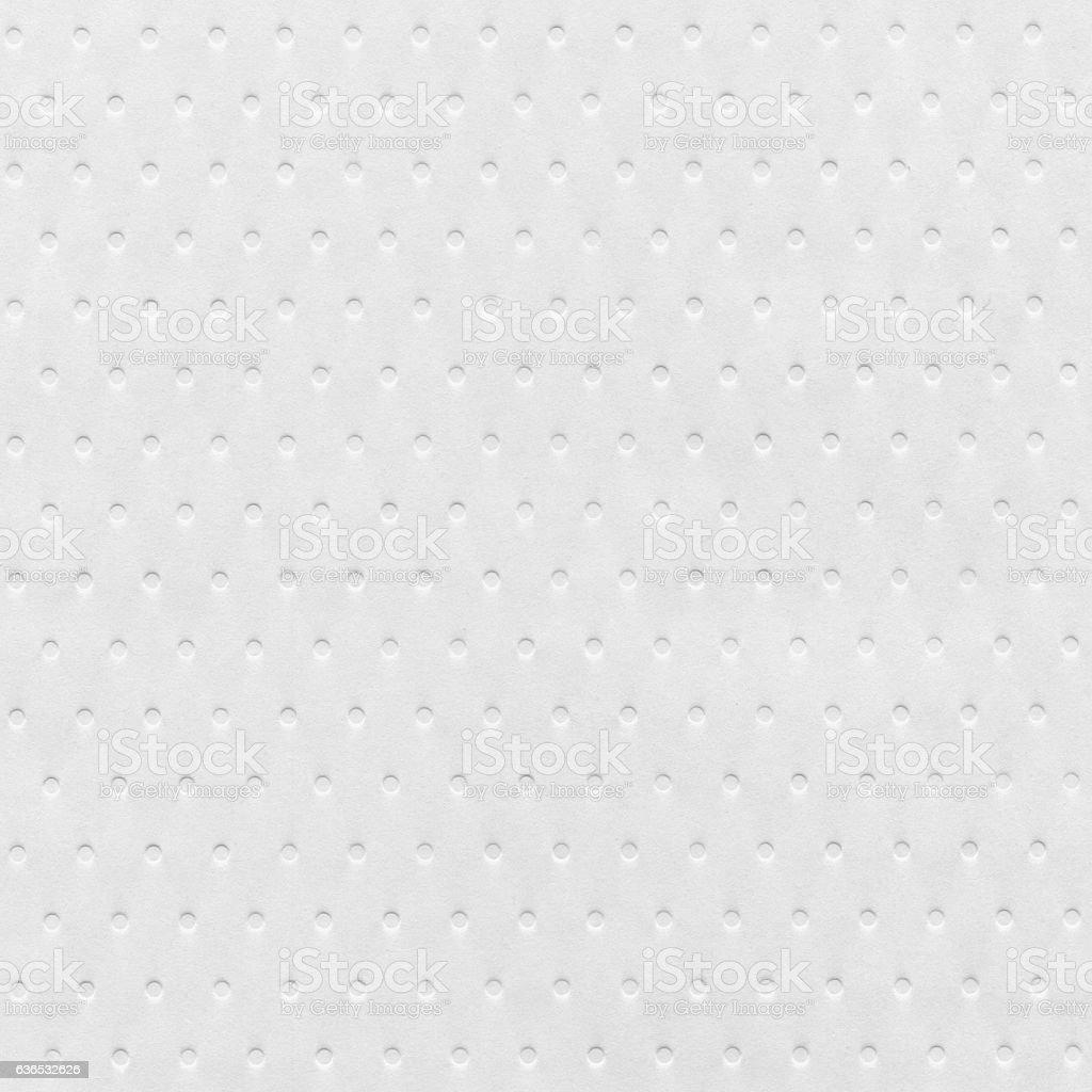 White Dot Patterned Wallpaper stock photo