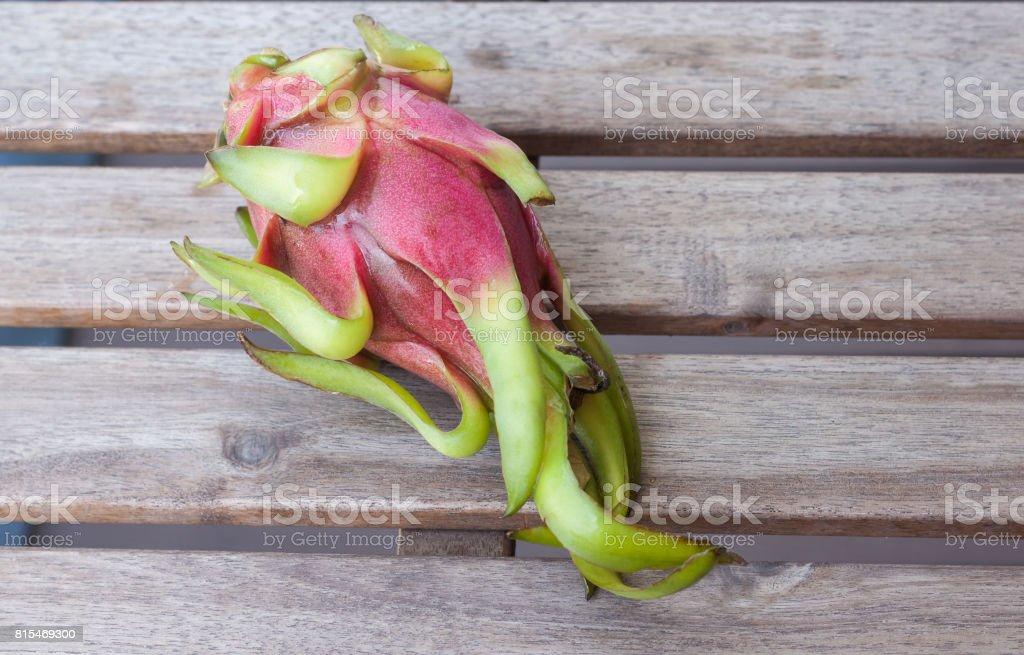 White dragon fruit stock photo