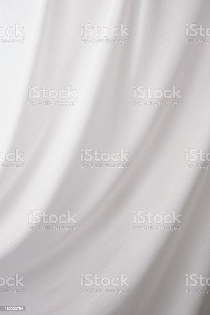 White drape textured background royalty-free stock photo