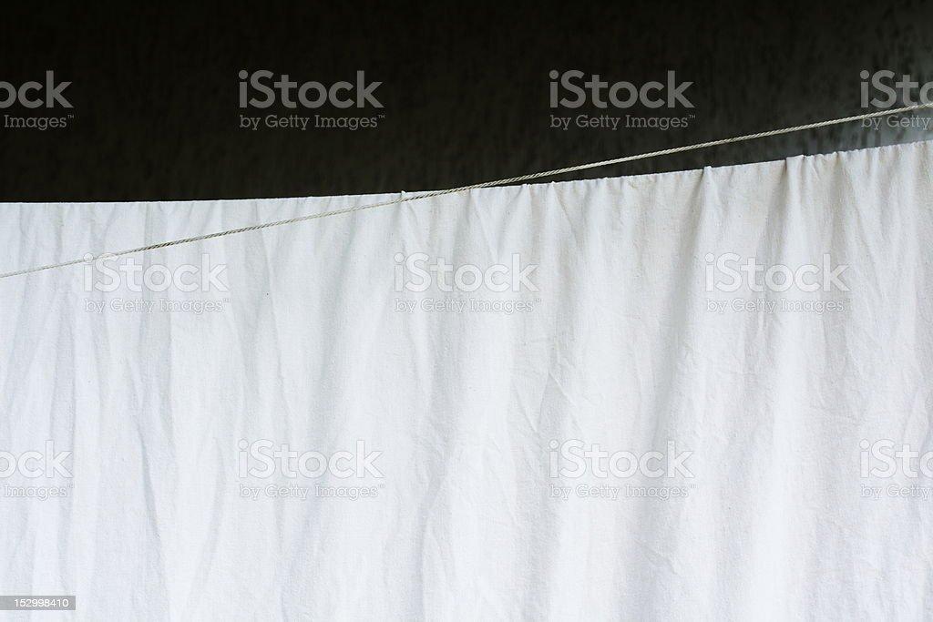 white dry sheet royalty-free stock photo