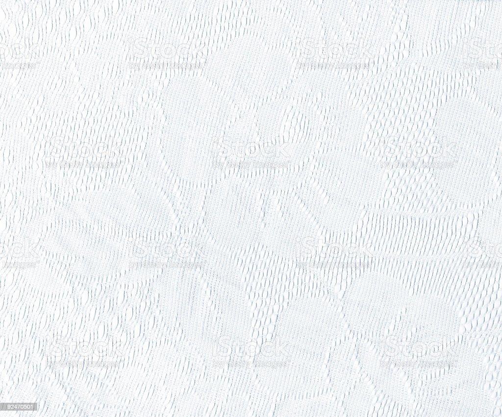 White Embroideries royalty-free stock photo