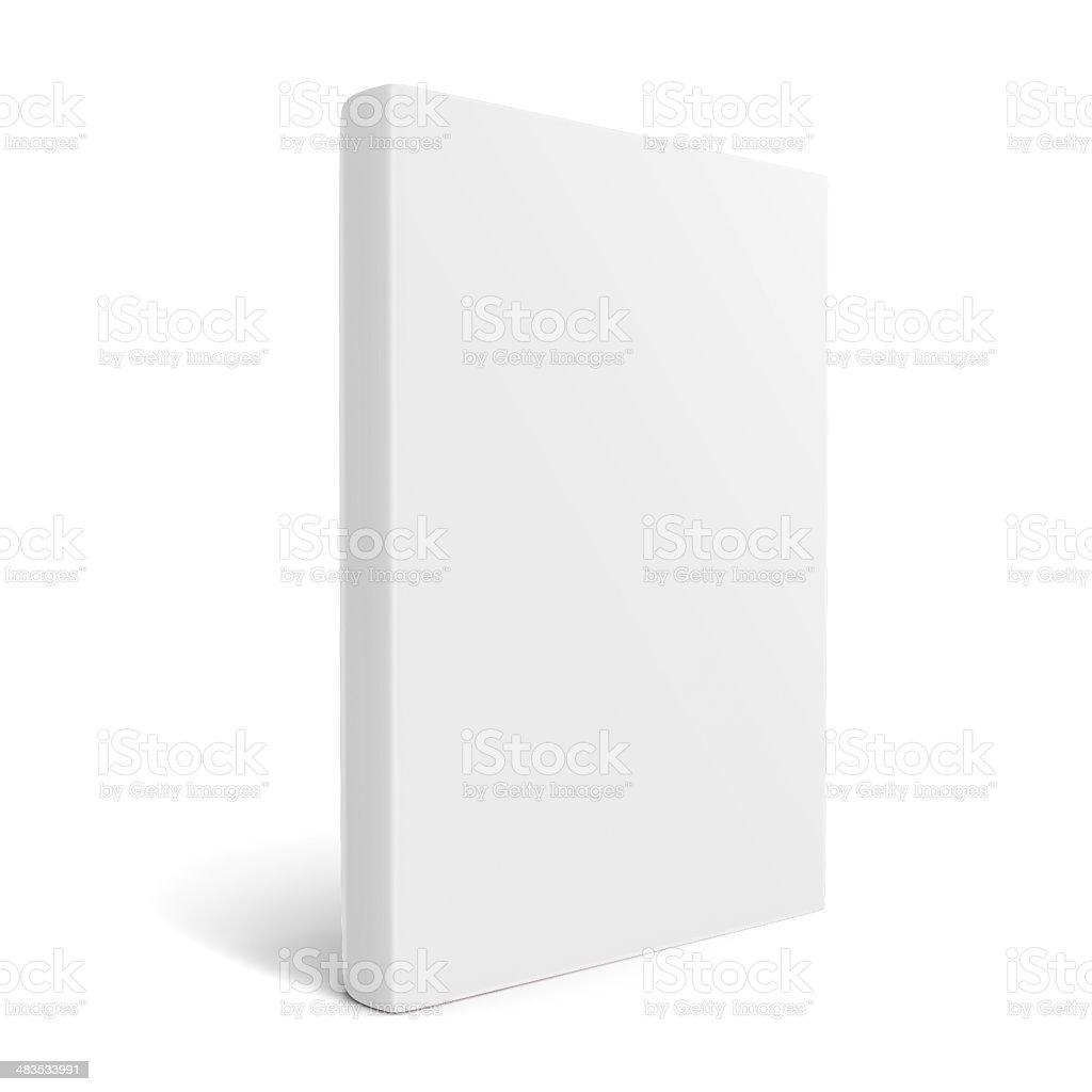 White empty book stock photo
