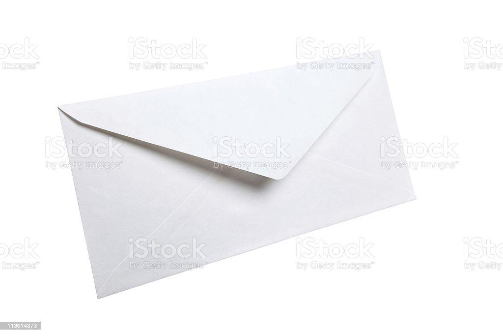 White Envelope stock photo