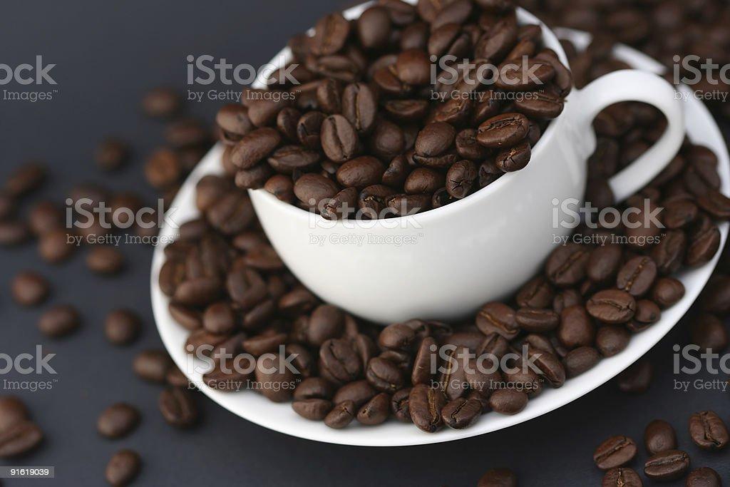 White espresso stock photo