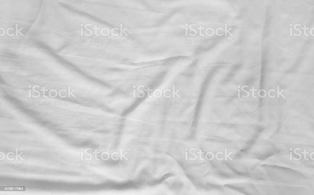 white fabric cloth texture stock photo