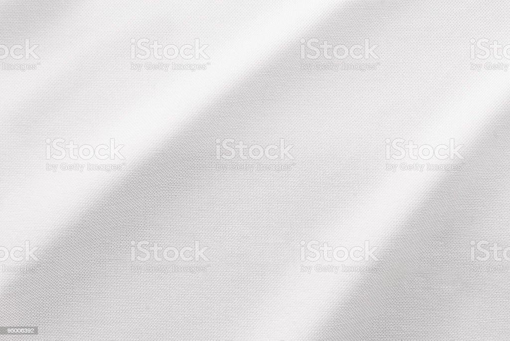 White Fabric Detail royalty-free stock photo