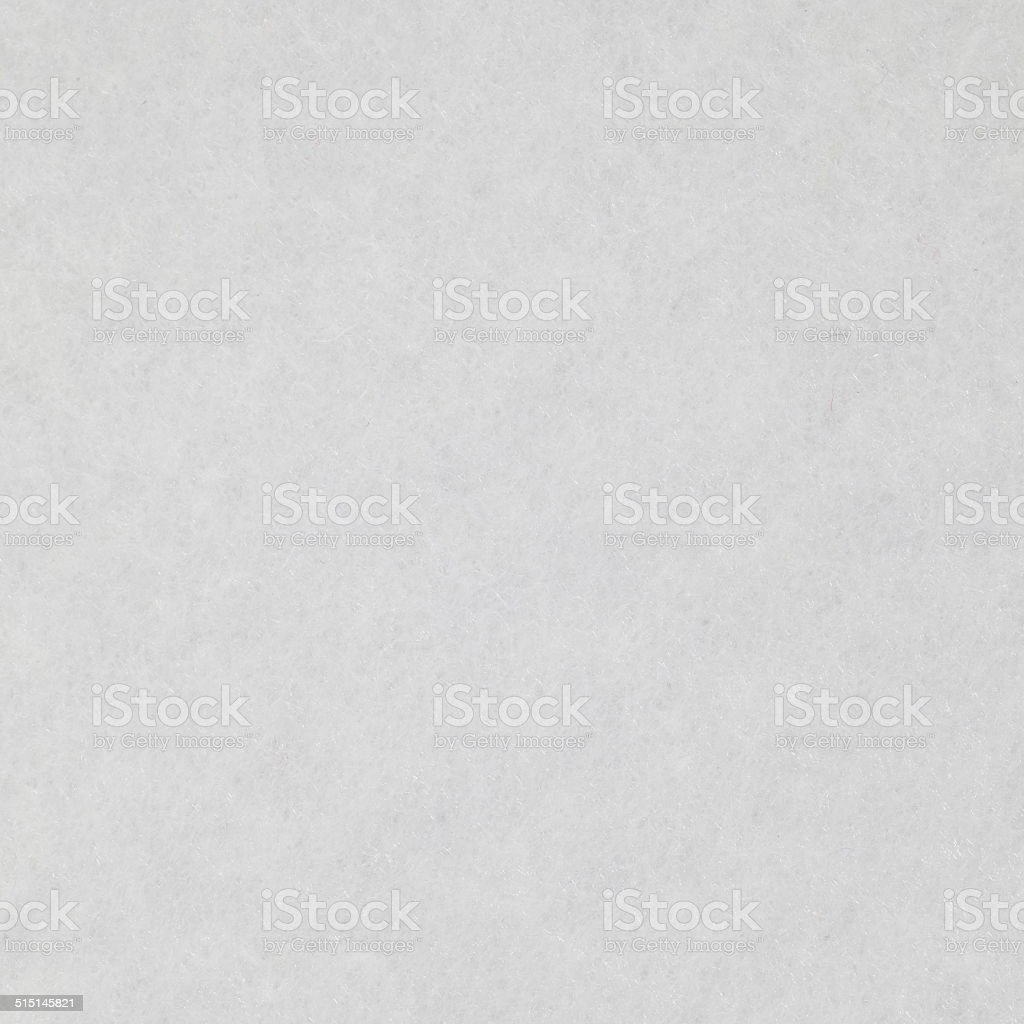 White fabric felt texture and background seamless stock photo