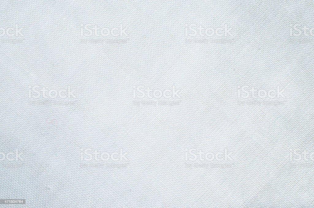 White fabric pattern background stock photo