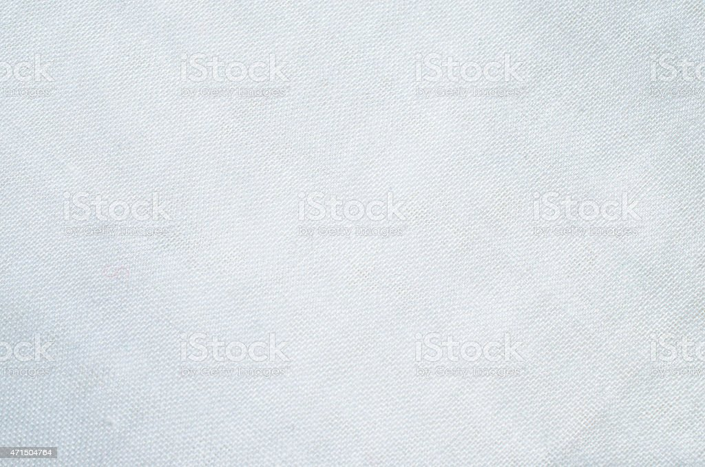 White fabric pattern background stock photo