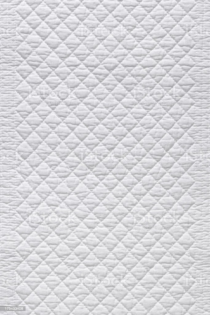 XL White fabric stock photo