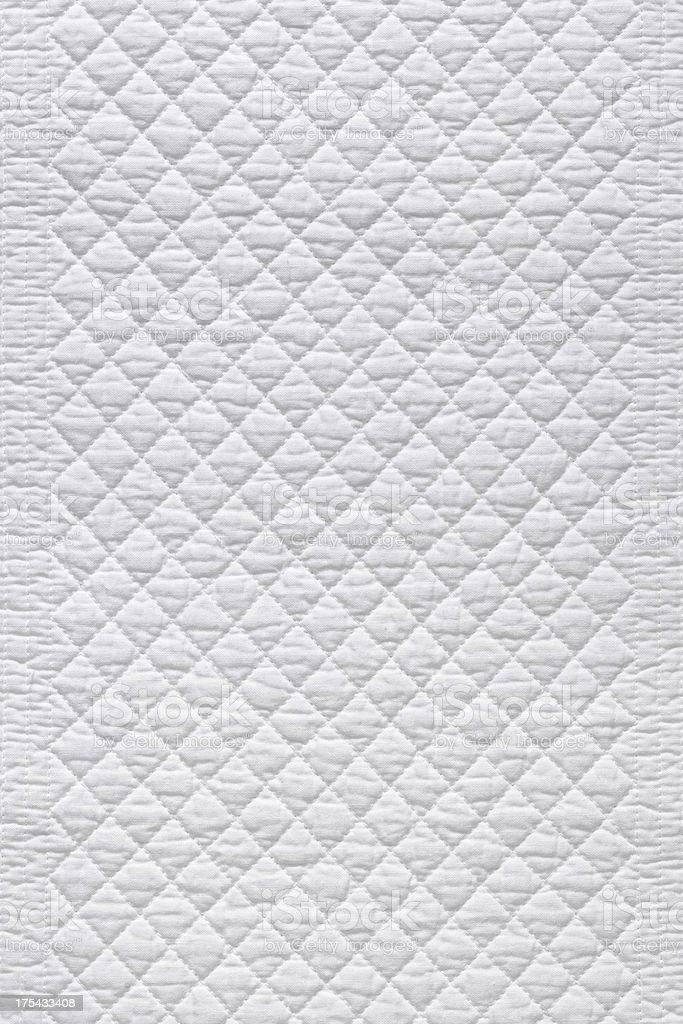 XL White fabric stock photo
