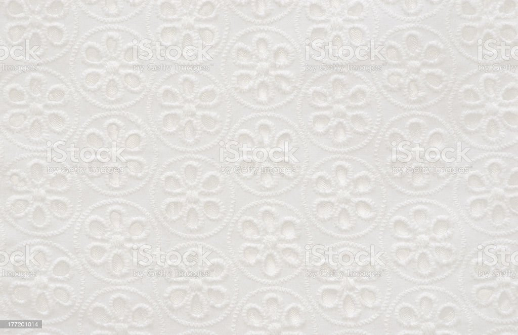 White Fabric stock photo