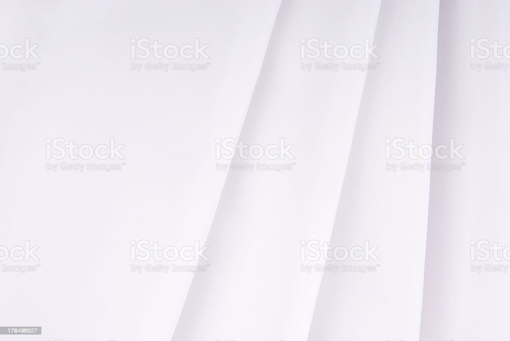 white fabric texture background royalty-free stock photo