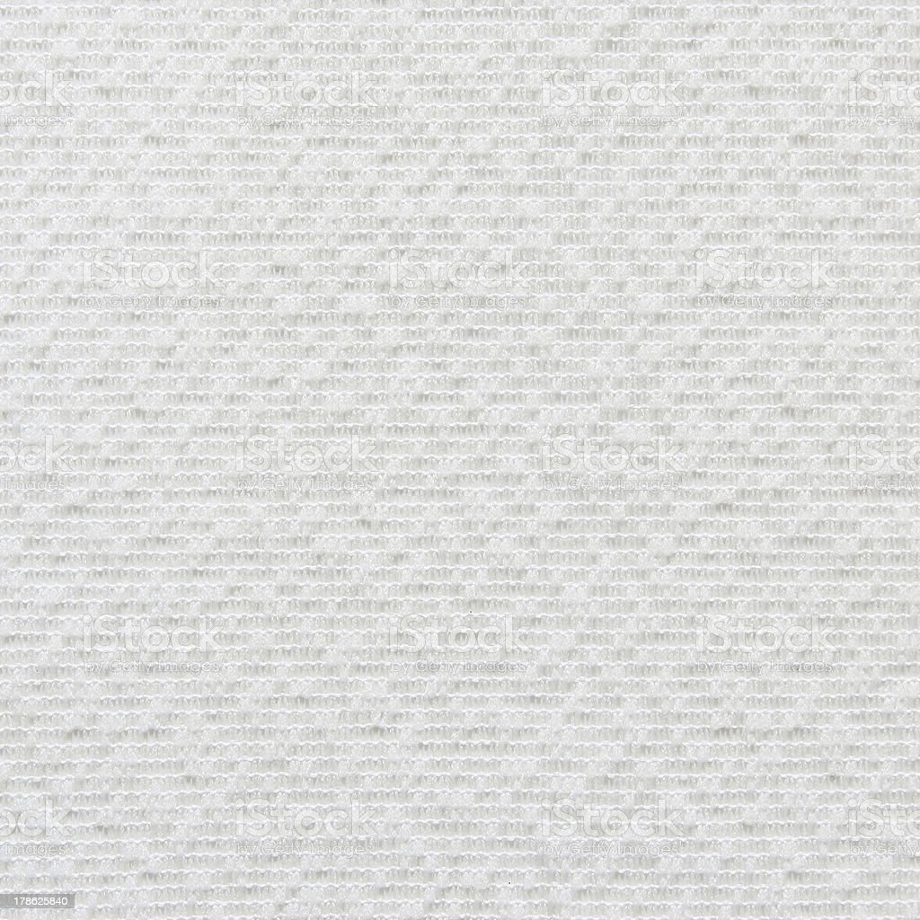white fabric texture for background royalty-free stock photo