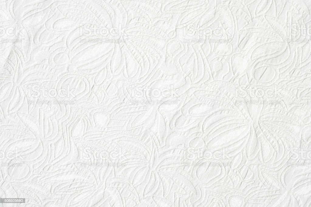 white fabric texture stock photo