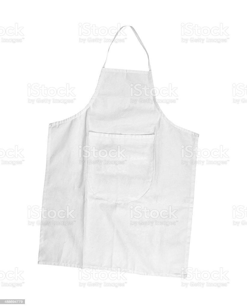 white female apron stock photo