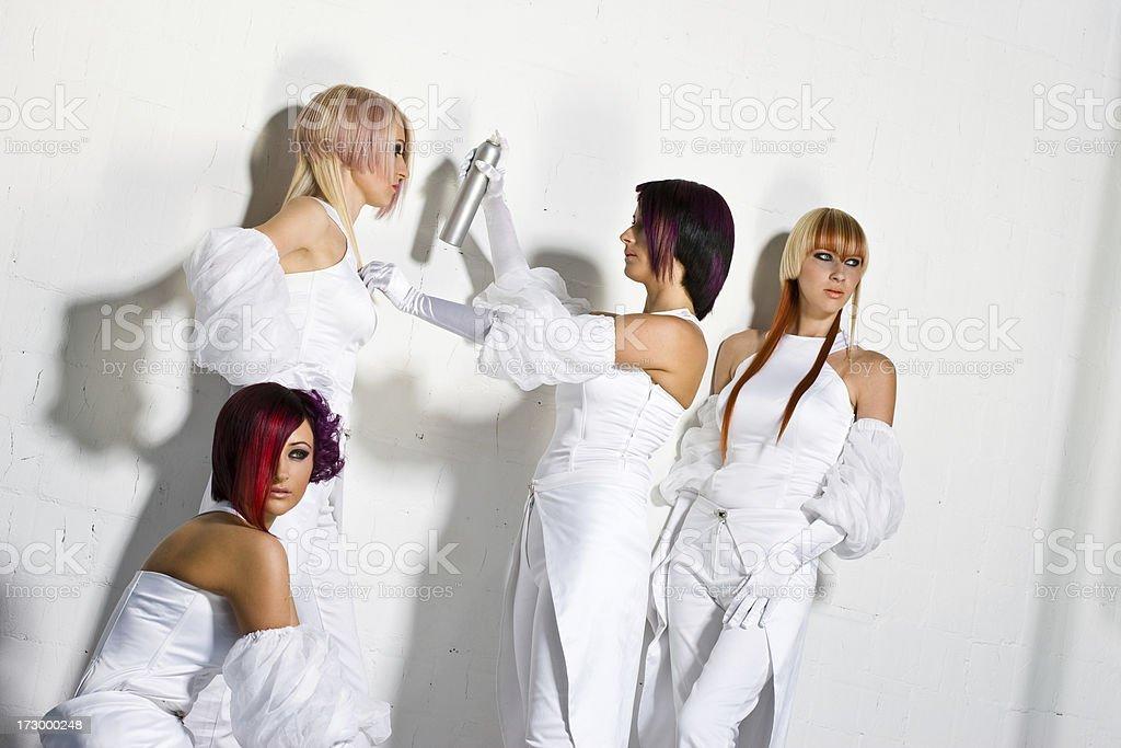 White fever royalty-free stock photo