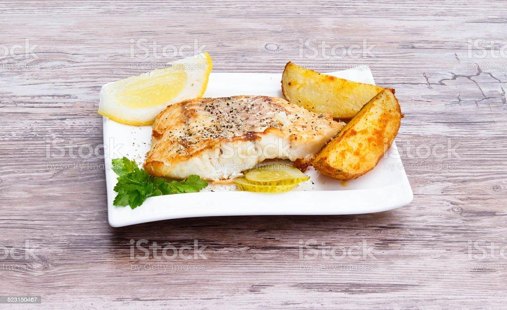 White fish stock photo