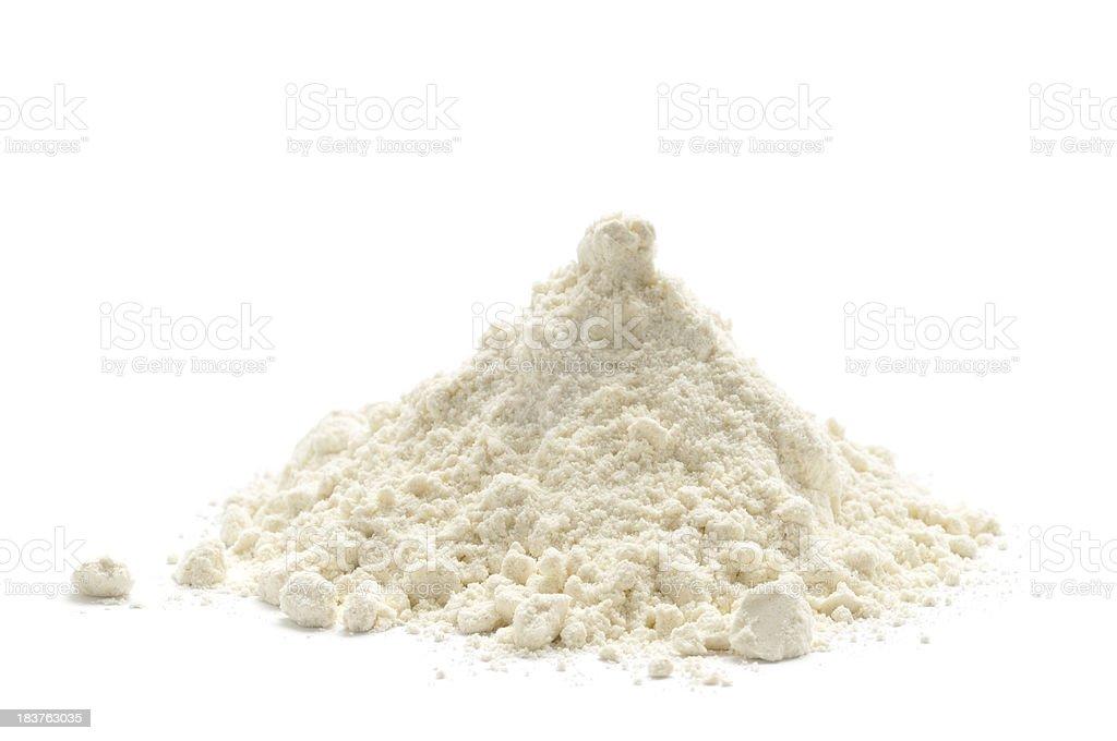 White Flour stock photo